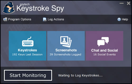 Click to view Keystroke Spy screenshots