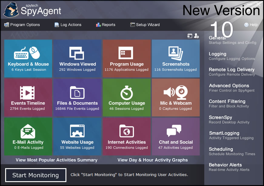 Spytech Spy Software - Computer Monitoring Software